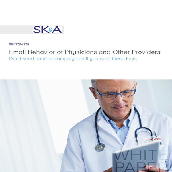 Email behavior of physicians